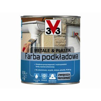 Podkład antykorozyjny METALE & PLASTIK V33