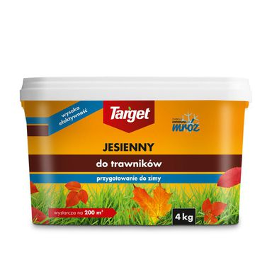 Nawóz do trawnika JESIENNY 4 kg TARGET