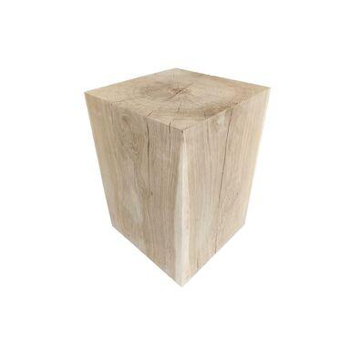 Pniak dekoracyjny kwadratowy Dąb 25x25x45 cm