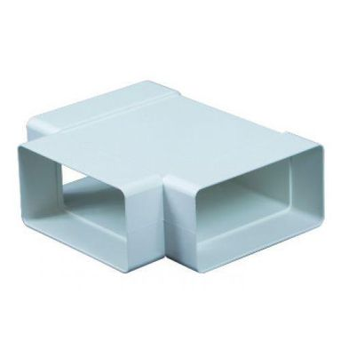 Trójnik kanału wentylacyjnego płaskiego POZIOMY PŁASKI 90° 75 x 150 mm EQUATION