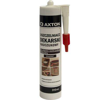 Uszczelniacz dekarski bitumiczny Brązowy 310 ml AXTON