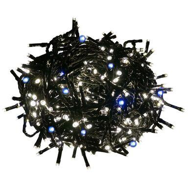 Lampki choinkowe zewnętrzne 29.95 m 600 LED białe ciepłe z programatorem FLASH