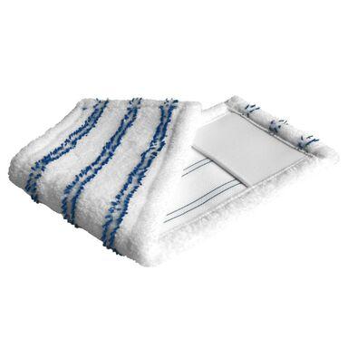 Nakładka do mopa płaskiego SMART biało-niebieska IMPACT