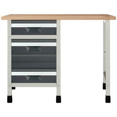 Stały stół warsztatowy WSS 113 cm NR 1 / 8060000 WOLFCRAFT