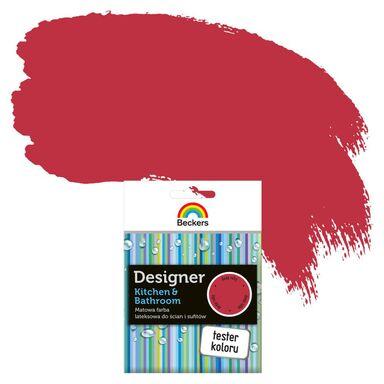 Tester farby DESIGNER KITCHEN & BATHROOM 50 ml Deep ruby BECKERS