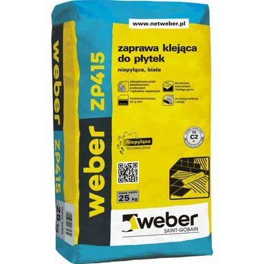 Zaprawa klejowa DO PŁYTEK BIAŁA 25 kg WEBER