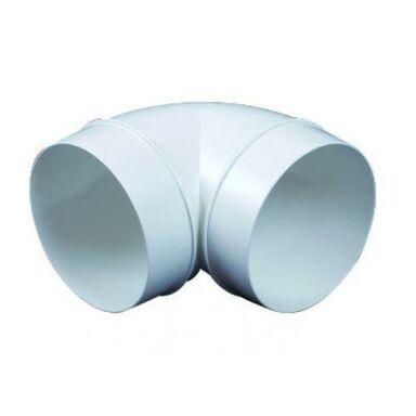 Kolanko wentylacyjne OKRĄGŁE 90° 125 mm EQUATION
