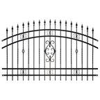 Panel ogrodzeniowy VERONA 200 cm x 110 - 130 cm POLBRAM