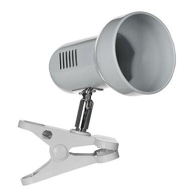 Lampka z klipsem szara E27 ACTIVEJET