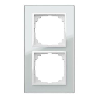 Ramka podwójna SENTIA  Biały  ELEKTRO-PLAST