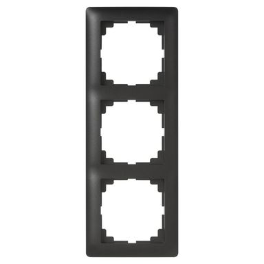 Ramka potrójna ASTORIA  czarny  ELEKTRO-PLAST
