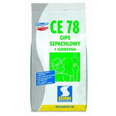 Gips szpachlowy CE78 5 kg SEMIN