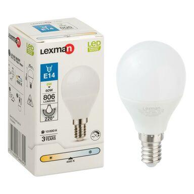 Żarówka LED E14 (230 V) 8 W 806 lm Neutralny LEXMAN