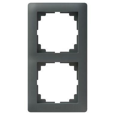 Ramka podwójna ASTORIA  antracyt  ELEKTRO-PLAST