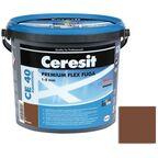 Fuga cementowa WODOODPORNA CE40 59 brązowy  5 kg CERESIT