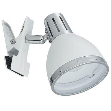 Lampka z klipsem KLAMMA biała E14 ORIVA