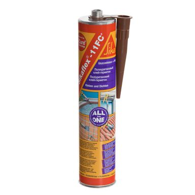 Klej uszczelniający SIKAFLEX - 11 FC+ Brązowy 300 ml SIKA