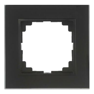 Ramka pojedyncza ASTORIA  czarny  ELEKTRO-PLAST