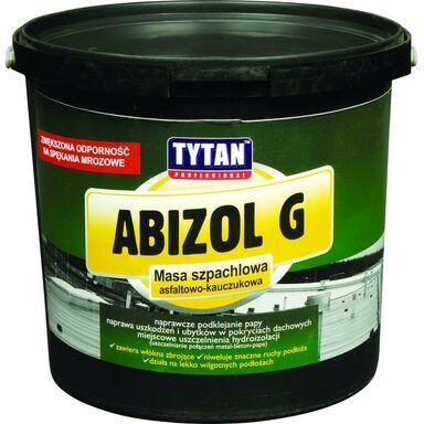 Masa szpachlowa asfaltowo-kauczukowa ABIZOL G 1 kg Tytan Professional