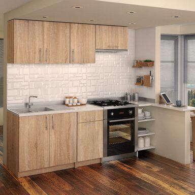 Zestaw mebli kuchennych DALIA2 kolor Dąb sonoma DREWMEX  Meble kuchenne w ze   -> Kuchnie Inspiracje Leroy Merlin