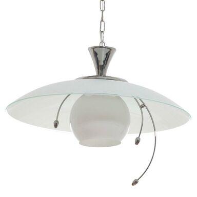 Lampa wisząca NOWOCZESNA biała E27 ALFA