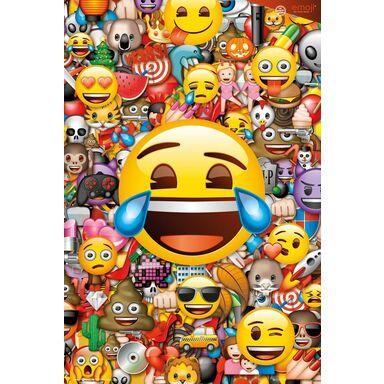 Plakat EMOJI COLLAGE 61 x 91.5 cm