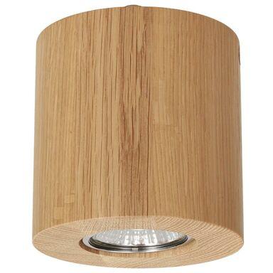 Oprawa stropowa natynkowa WOODDREAM dąb okrągła GU10 SPOT-LIGHT