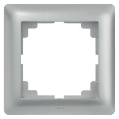 Ramka pojedyncza ASTORIA  srebrny  ELEKTRO-PLAST
