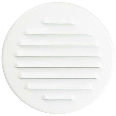 Kratka wentylacyjna stalowa 125 biała EQUATION
