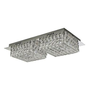 Lampa sufitowa KATIA 2P transparentna LED SOLEJ