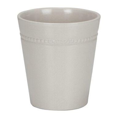 Osłonka do storczyka ceramiczna 13 cm kremowa 662/14 SCHEURICH