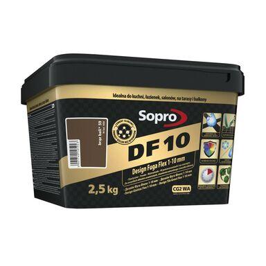 Fuga cementowa DF10  brązowy  2.5 kg SOPRO