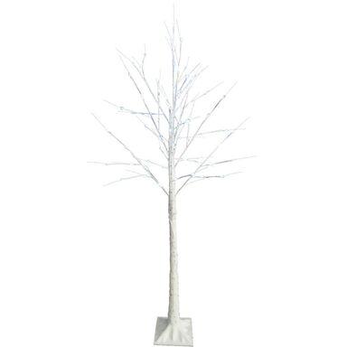 Drzewko świetlne LED zewnętrzne 180 cm zimna biel