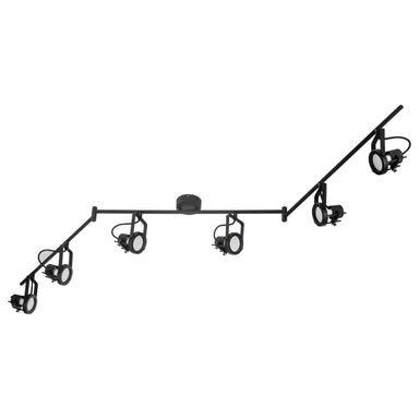 Listwa reflektorowa TECHNIC czarna GU10 INSPIRE