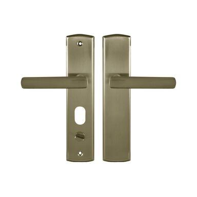 Klamka do drzwi zewnętrznych APO PATYNA LEWA 72
