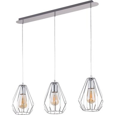 Lampa wisząca BRYLANT chrom 3 x E27 TK LIGHTING