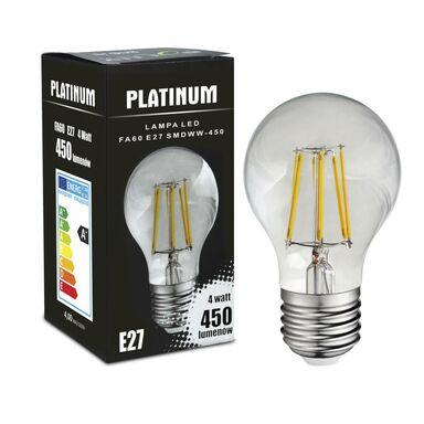 Żarówka LED E27 (230 V) 4 W 450 lm Ciepła biel POLUX