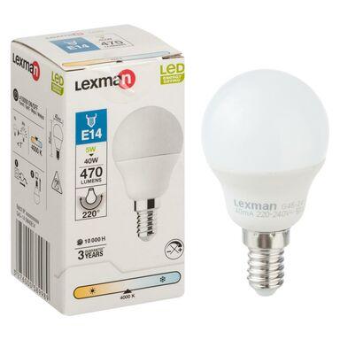 Żarówka LED E14 (230 V) 5 W 470 lm Neutralny LEXMAN