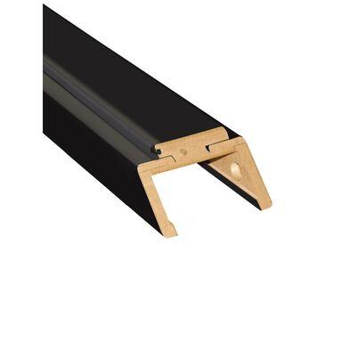 Belka górna ościeżnicy REGULOWANEJ 70 Czarny mat 160 - 180 mm ARTENS