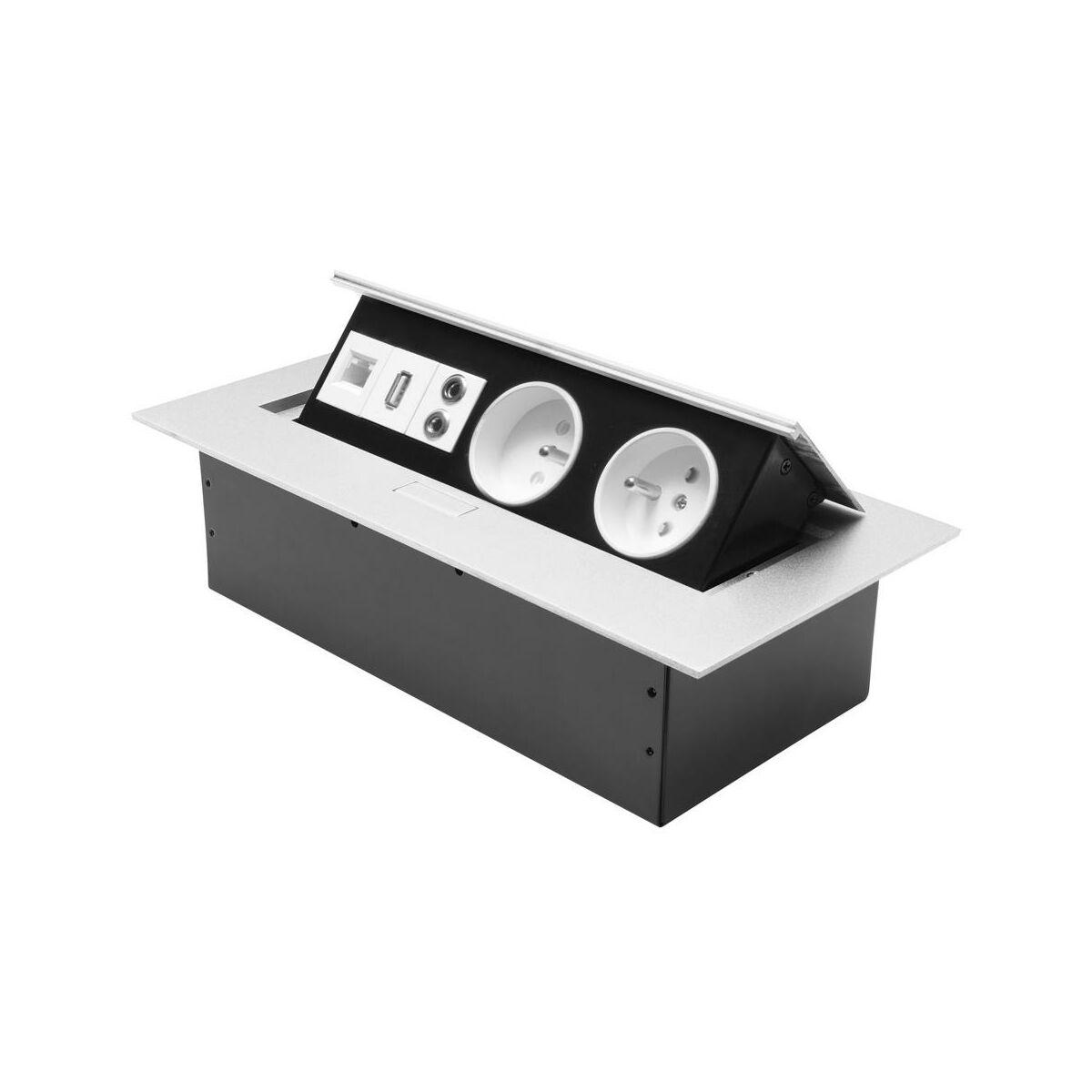 Gniazdo Blatowe 2x2p Z 2usb Audio Przedluzacze Domowe W Atrakcyjnej Cenie W Sklepach Leroy Merlin
