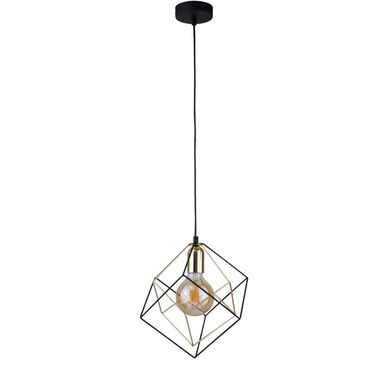 Lampa wisząca Alambre czarno-złota E27 TK Lighting