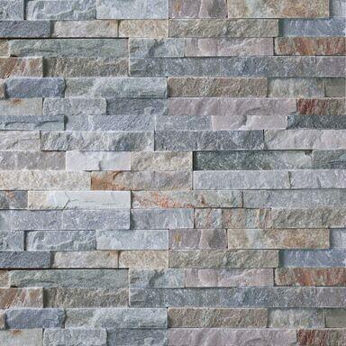 Kamień naturalny WALL CRAZY ŻÓŁTY SMALL 40X10X0,5-1,5 CM KNAP