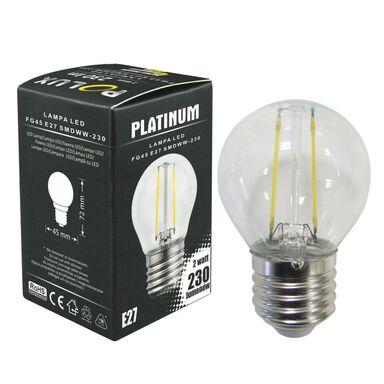 Żarówka LED E27 (230 V) 2 W 230 lm Ciepła biel POLUX