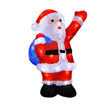 Mikołaj podświetlany 38 cm 60 LED