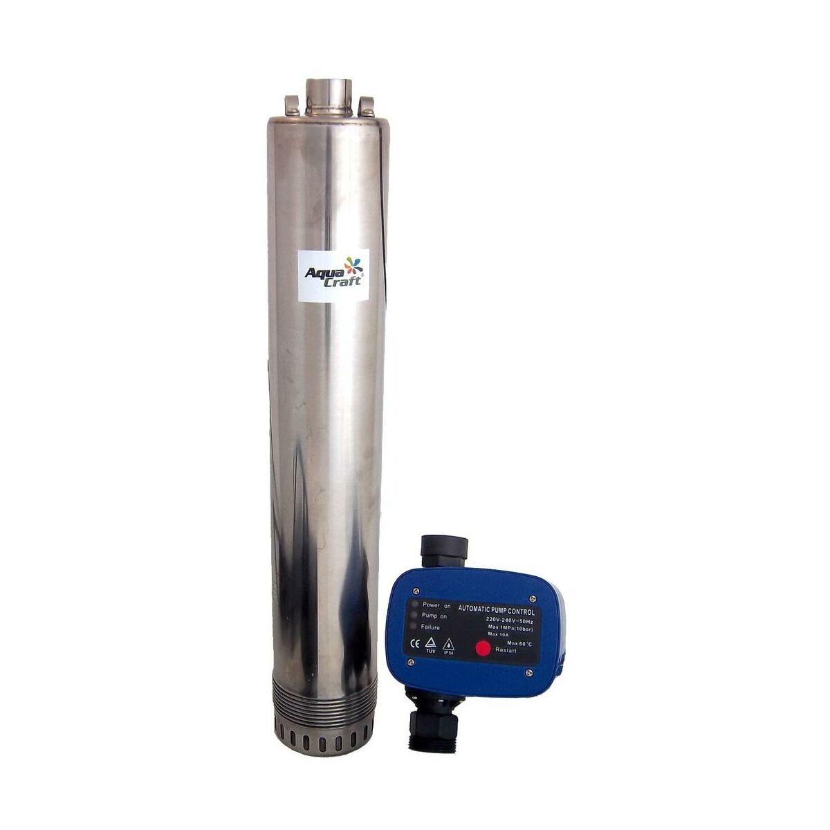 Pompa g binowa msp1000x8am02t presscontroll aquacraft for Pompa sommersa leroy merlin