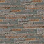 Kamień naturalny WALL CRAZY Rudy 40 x 10 cm KNAP