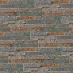Kamień naturalny WALL CRAZY RUDY SMALL 40 x 10 cm KNAP