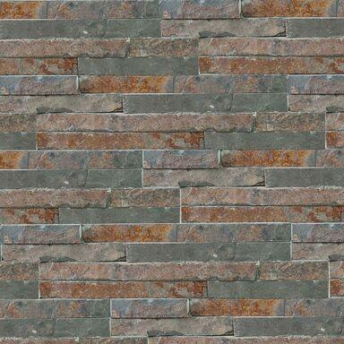 Kamień naturalny WALL CRAZY RUDY SMALL 40X10X0,5-1,5 CM KNAP