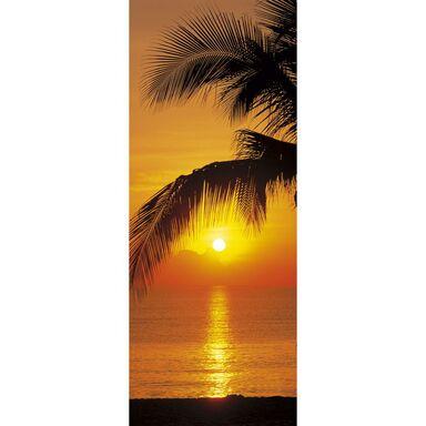 Fototapeta PALMY BEACH SUNRISE 220 x 92 cm