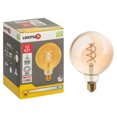Żarówka dekoracyjna LED E27 (230 V) 5 W 300 lm LEXMAN
